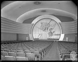 Auditorium photo credit Maryland Historical Society.