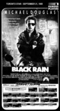 """AD FOR """"BLACK RAIN"""" - VICTORIA TERRACE AND OTHER THEATRES"""