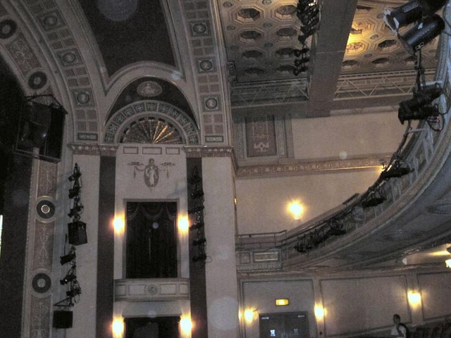Ohio Theatre (Cleveland) - Auditorium sidewall