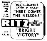 Ritz Theater  1012 NE 13th Street, Oklahoma City, OK 73117