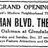 December 24th, 1919 grand opening ad
