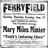 August 27th, 1916 grand opening ad as Ferry Field