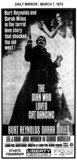 "AD FOR ""THE MAN WHO LOVED CAT DANCING - LIBERTY THEATRE"