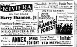 February 4th, 1927 grand opening ad