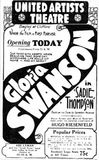 February 3rd, 1928 grand opening ad
