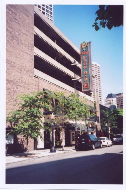 Former Carnegie Theatre site in 2009