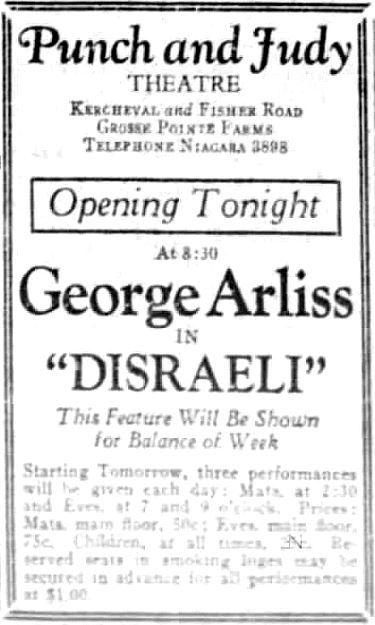 January 29th, 1930 grand opening ad