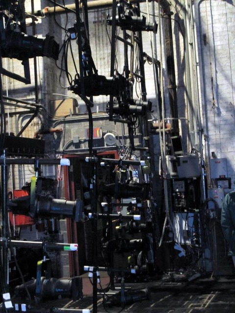Ohio Theatre (Cleveland) - Stage rigging