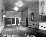 As noted, this picture of the Temple lobby was taken at the theater's launch on June 16, 1925.