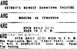 November 22nd, 1950 grand opening ad