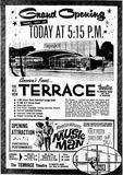 September 20th, 1962 grand opening ad