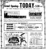 April 10th, 1963 grand opening ad