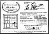 November 13th, 1964 grand opening ad