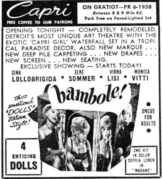 October 8th, 1965 grand opening ad