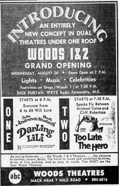August 26th, 1970 grand opening ad