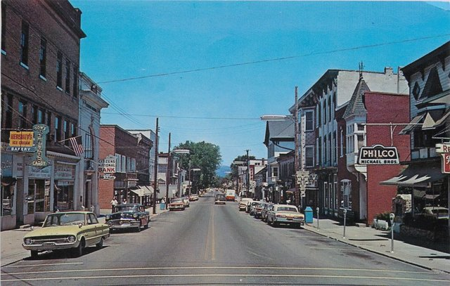 1960's photo courtesy of the AmeriCar The Beautiful Facebook page.
