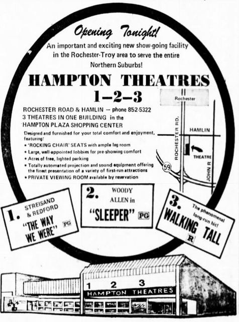January 11th, 1974 grand opening ad