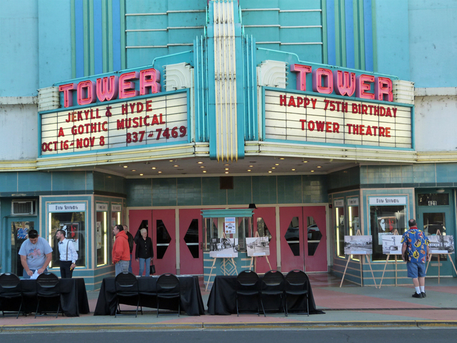 Tower Theatre Roseville 2015