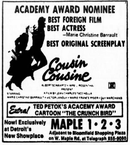 Maple Theater in Bloomfield Hills, MI - Cinema Treasures