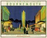Bournemouth Railway Poster