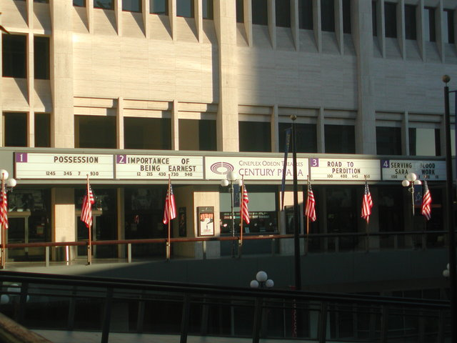 Century Plaza Cinemas - 2002