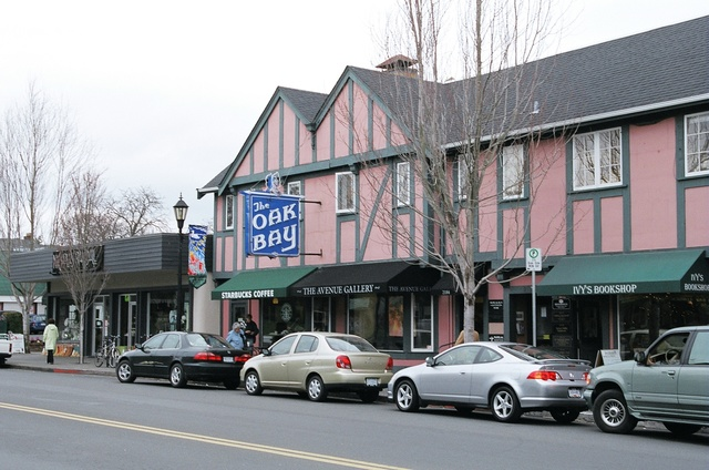 Oak Bay Theatre building