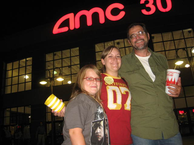AMC 30 hosts the premiere of the last Harry Potter film.