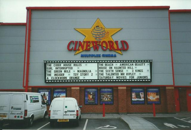 Cineworld Cinema - Chesterfield