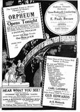 January 5th, 1929 grand opening ad