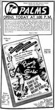 March 23rd, 1945 grand opening ad in photo section.