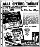 April 22nd, 1949 grand opening ad