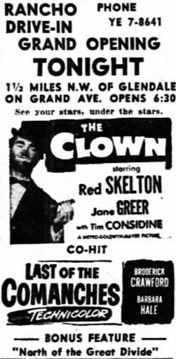 April 24th, 1953 grand opening ad