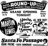 November 4th, 1955 grand opening ad
