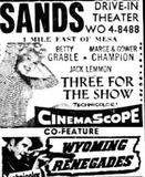 May 12th, 1955 grand opening ad