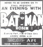 1966 print ad courtesy of Comic Book Resources.