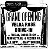 October 4th, 1972 grand opening ad