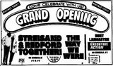 December 25th, 1973 grand opening ad