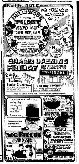 May 28th, 1976 grand opening ad