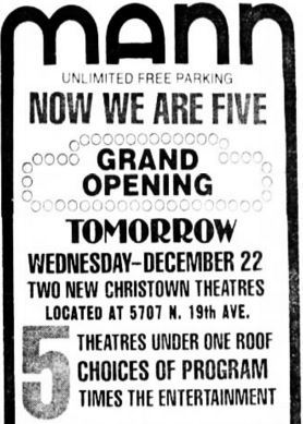 December 22nd, 1976 grand opening ad