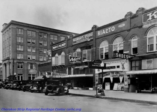 1926 photo credit Cherokee Strip Regional Heritage Center, csrhc.org