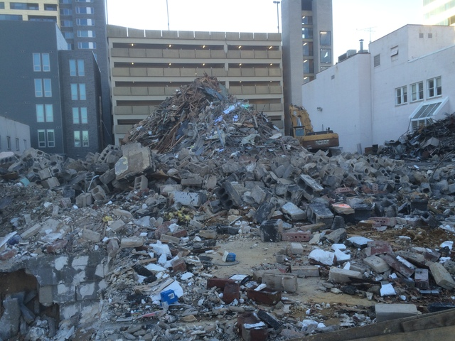 Rubble of Roth's Silver Spring West