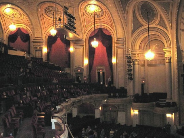 Palace Theatre (Cleveland) Auditorium Sidewall