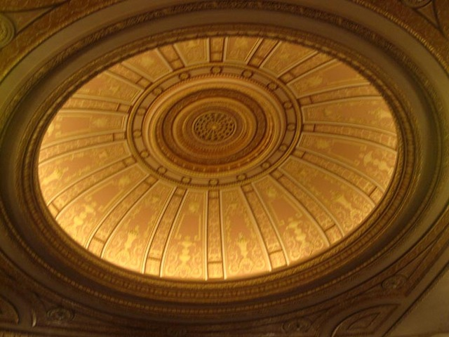 Palace theatre (Cleveland) Ceiling Cove