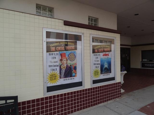 Movie theatre el reno ok