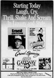 May 22nd, 1987 grand opening ad