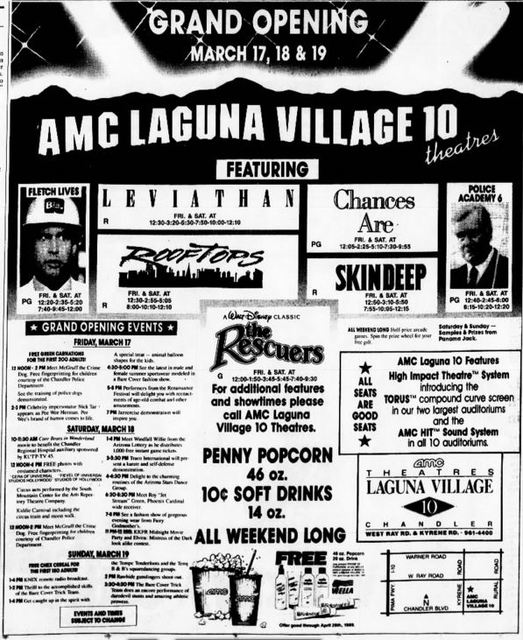 March 17th, 1989 grand opening ad