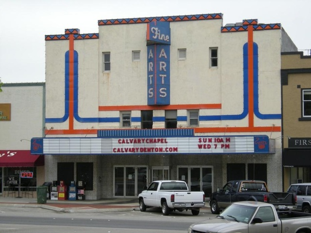 fine arts theater in denton tx cinema treasures