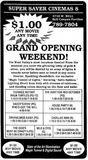 July 13th, 1990 grand opening ad