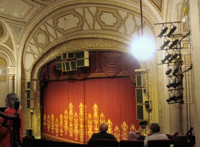 Palace Theatre (Cleveland), Auditorium Proscenium