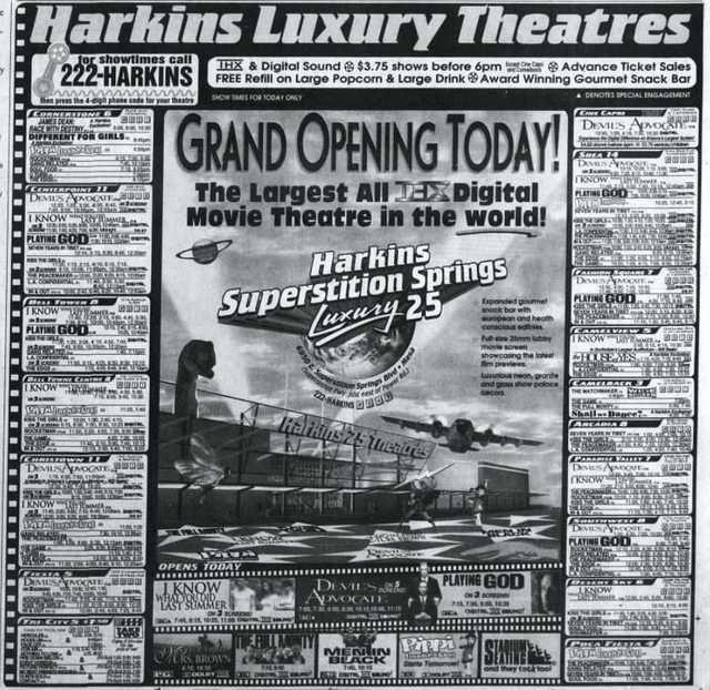 Harkins Superstition Springs 25 Luxury Cinemas In Mesa Az Cinema